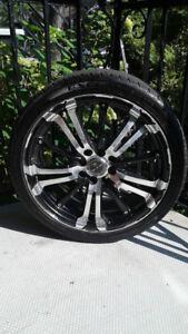 Mags RTX 17 pouces avec pneus prêts à être installés!!