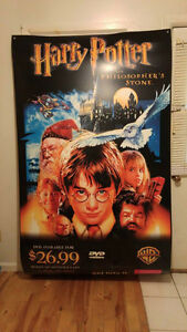 HUGE Promo Material From 1st Harry Potter DVD release