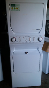 MAYTAG HEAVY DUTY COMBO STACKER WASHER & DRYER FOR REBUILD