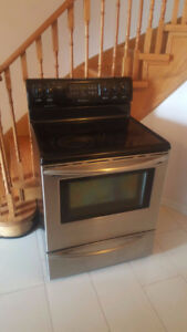 Frigidaire stainless steel stove for sale