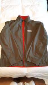 Men's Tommy Hilfiger reversible spring coat size large