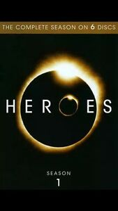 Heros First season DVD box set 4$ if no headaches.
