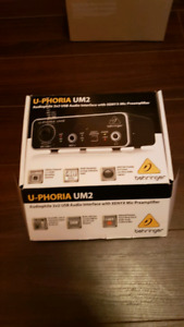 Behringer Uphoria UM2 audip interface!