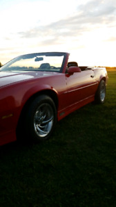 89 Camaro rs convertible ( sold to very nice people thanks)