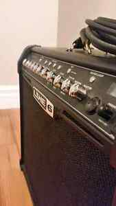 Line 6 Spyder 75W amp with 20ft patch cord