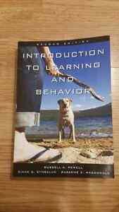 Introduction to learning and behaviour