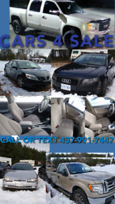 CARS TRUCKS SUV ALL PRICED TO SELL