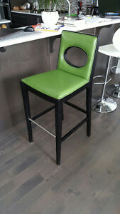 Beautiful high chair for your bar