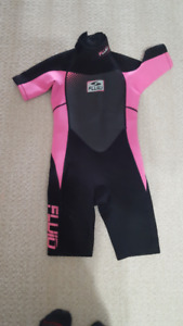 Girls junior wet suite