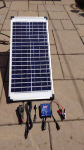 Coleman 40W Folding Solar Panel + Accessories *Excellent Shape!