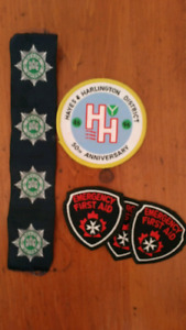 Girl guide and other badges