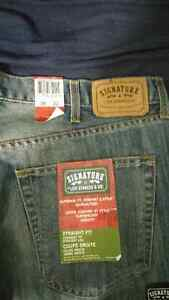 men's levi and wrangler new jeans