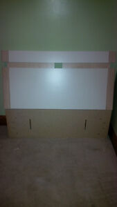 Veneered twin size bed headboard London Ontario image 1