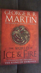Game of Thrones a world of ice and fire book