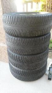 Subaru 225/65R16 winter tire & rims
