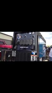 MILLER PIPE PRO 350 WELDING MACHINE &MILLER EXTREME VS WIRE FEED