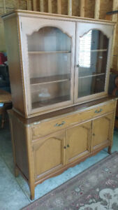 Malcolm Solid Wood China Cabinet REDUCED