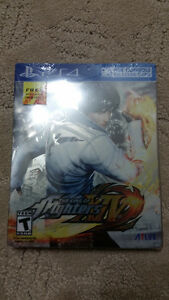 PS4 - King of Fighters 14 Brand New