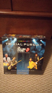The Rolling Stones Trivial Pursuit Game *New*