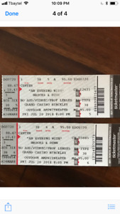 Unbelievable deal on BROOKS and DUNN tickets in hinkley fri July