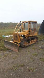 Tracteur sur chenille
