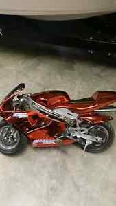 49cc pocket bike ( road legal ) located in kelowna