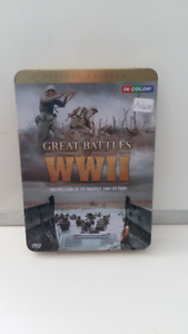 DVD GREAT BATTLES OF  WWII