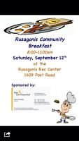 Rusagonis community breakfast