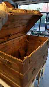 Old Antique Trunk NEW PRICE Kitchener / Waterloo Kitchener Area image 2