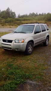 2004 Ford Escape Tan/gold SUV, Crossover