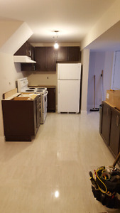brand new 1 large  bedroom basement apartment ! $1130