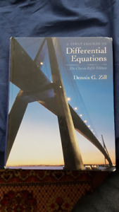 A First Course in Differential Equations by Denny G. Zill