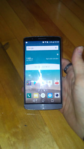 Lg G3 32 gig for sale or trade