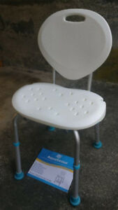 Bath Shower Seat with Backrest ** LIKE NEW ** - $30