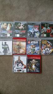 PS3 Games - WWE, CoD, LEGO, Mortal Kombat