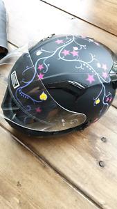 Jacket/chaps/helmet