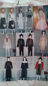 Halloween costumes, hobby for sale