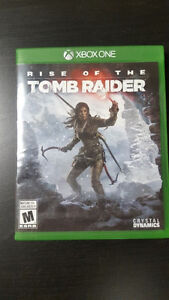 XBox One Game - Tomb Raider - Rise of The Tomb Raider