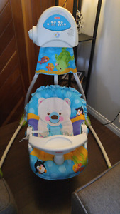 Fisher Price baby swinger for sale