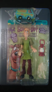 """Shaggy 9"""" Action Figure and Scooby-Doo Mystery Machine Toy"""