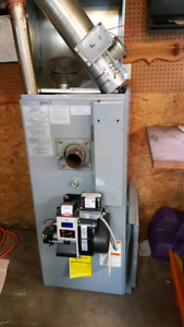 oil tank and furnace great condition