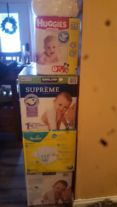 New in box diapers