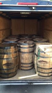 Wine & Whiskey Barrels (Jack Daniels)