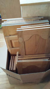 Wood Cabinets and Doors For Sale