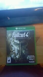 Fallout 4 and cod b03 xbox one Kitchener / Waterloo Kitchener Area image 1