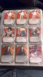 ~300 Cartes de Naruto à vendre ou à échanger