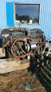 Boat motor and transmision