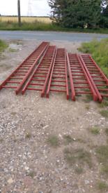 Pole Ladders Scaffolding.