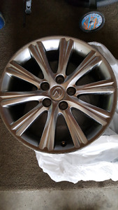 Lexus 17inch rims and winter tire set for sale