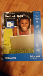 Outlook 2013 Microsoft office- certification guide
